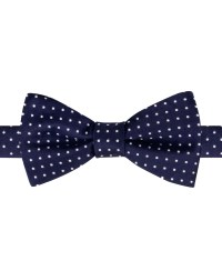 Lyst - Tommy Hilfiger Satin Dot Bow Tie in Blue for Men