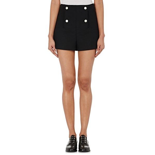 Lyst - Balenciaga Women' Sailor Shorts In Black