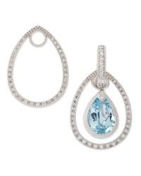 Judefrances Jewelry Classic White Gold Pave Diamond ...