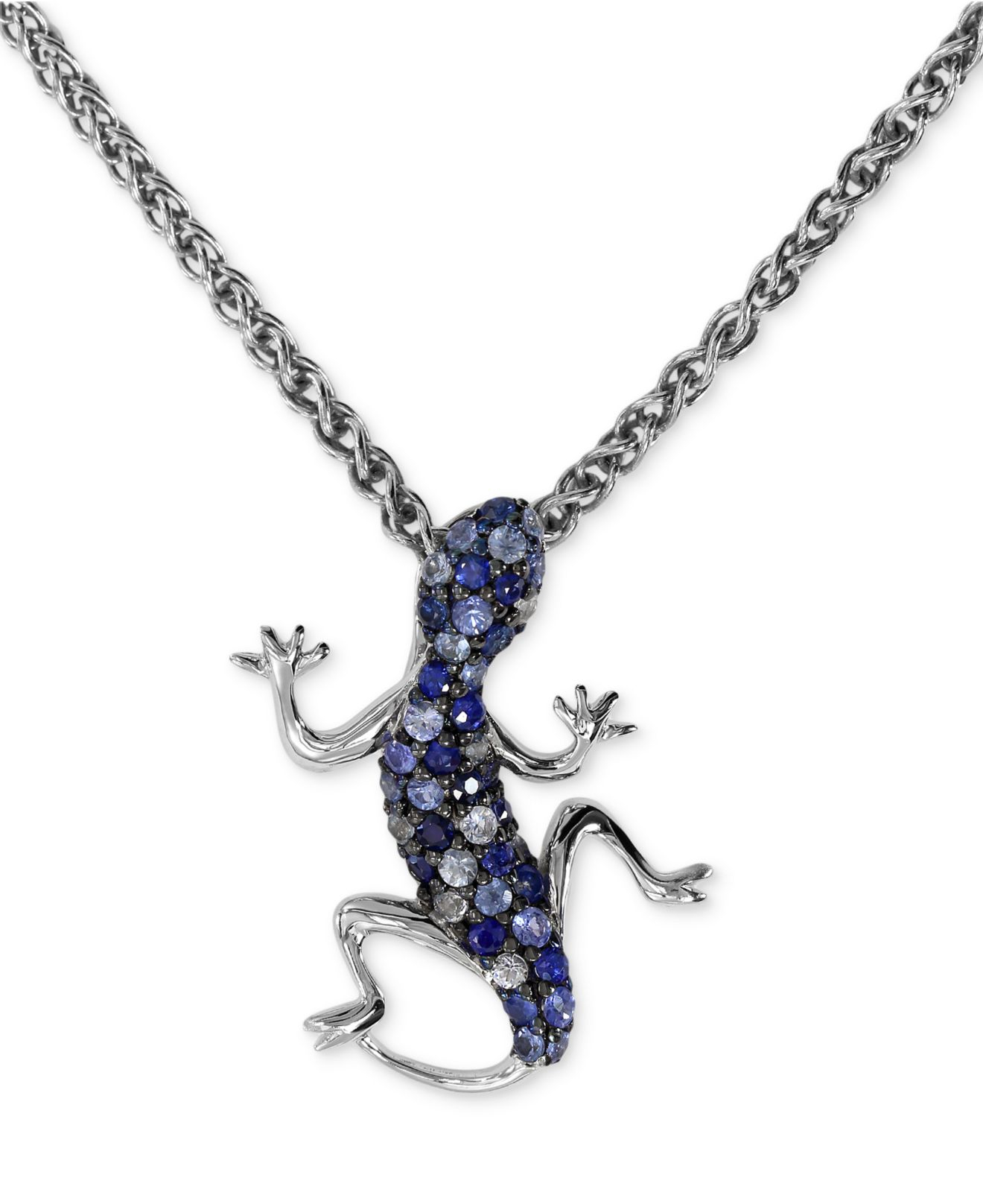 Effy collection Balissima By Effy Sapphire Lizard Pendant