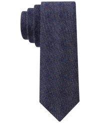 Lyst - Calvin Klein Denim Rose Tie in Blue for Men