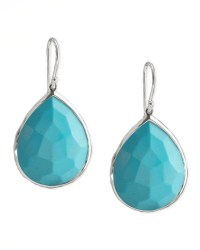 Ippolita Turquoise Teardrop Earrings in Metallic | Lyst