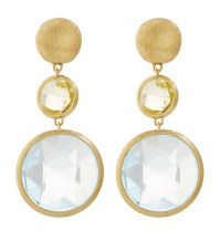 Marco bicego Jaipur Gem Drop Earrings in White