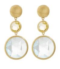 Marco bicego Jaipur Gem Drop Earrings in White   Lyst