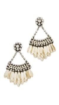 Lyst - Deepa Gurnani Deepa By Jaliyah Earrings in Metallic