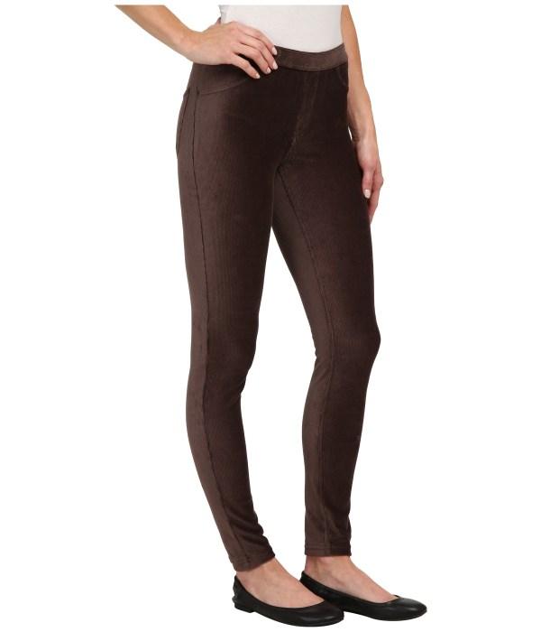 Lyst - Hue Corduroy Jeans Leggings In Red