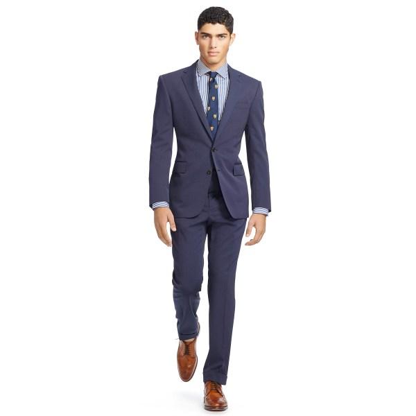 Ralph Lauren Blue Pin Dot Suit