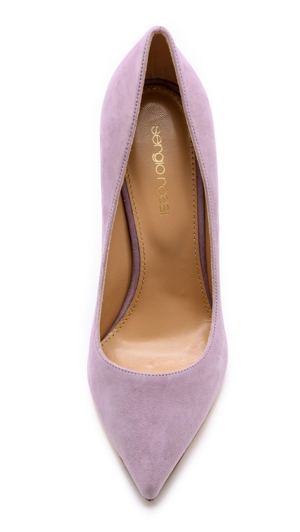 Sergio Rossi Godiva Pumps - Lilac Blush In Purple Lyst