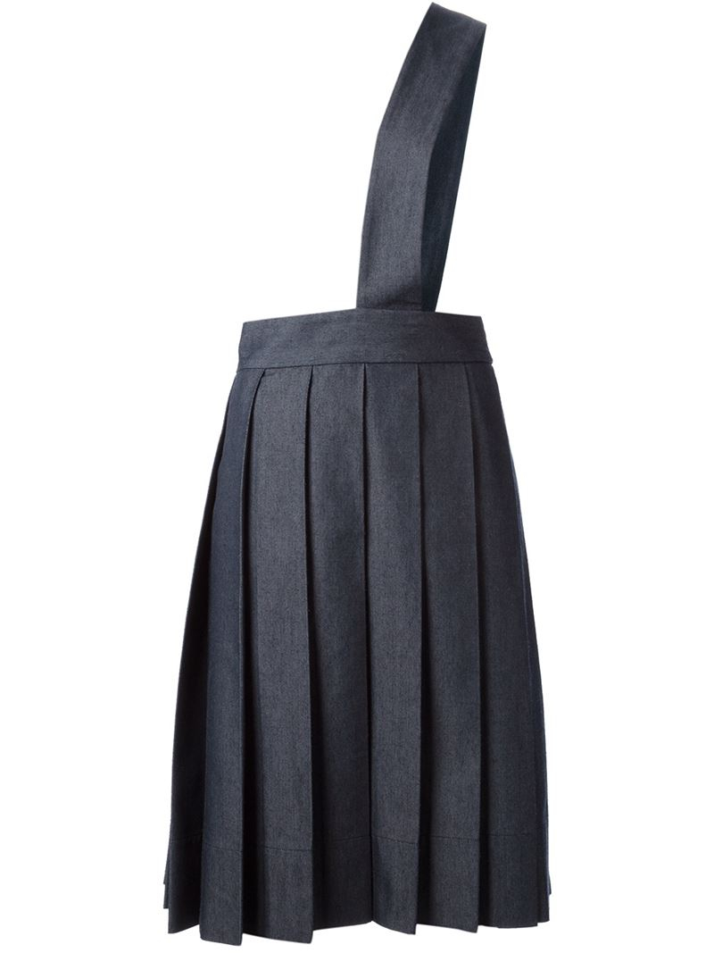 Comme des garons robe De Chambre Pleated Skirt in Black  Lyst