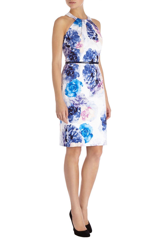 Coast Blue Floral Dress