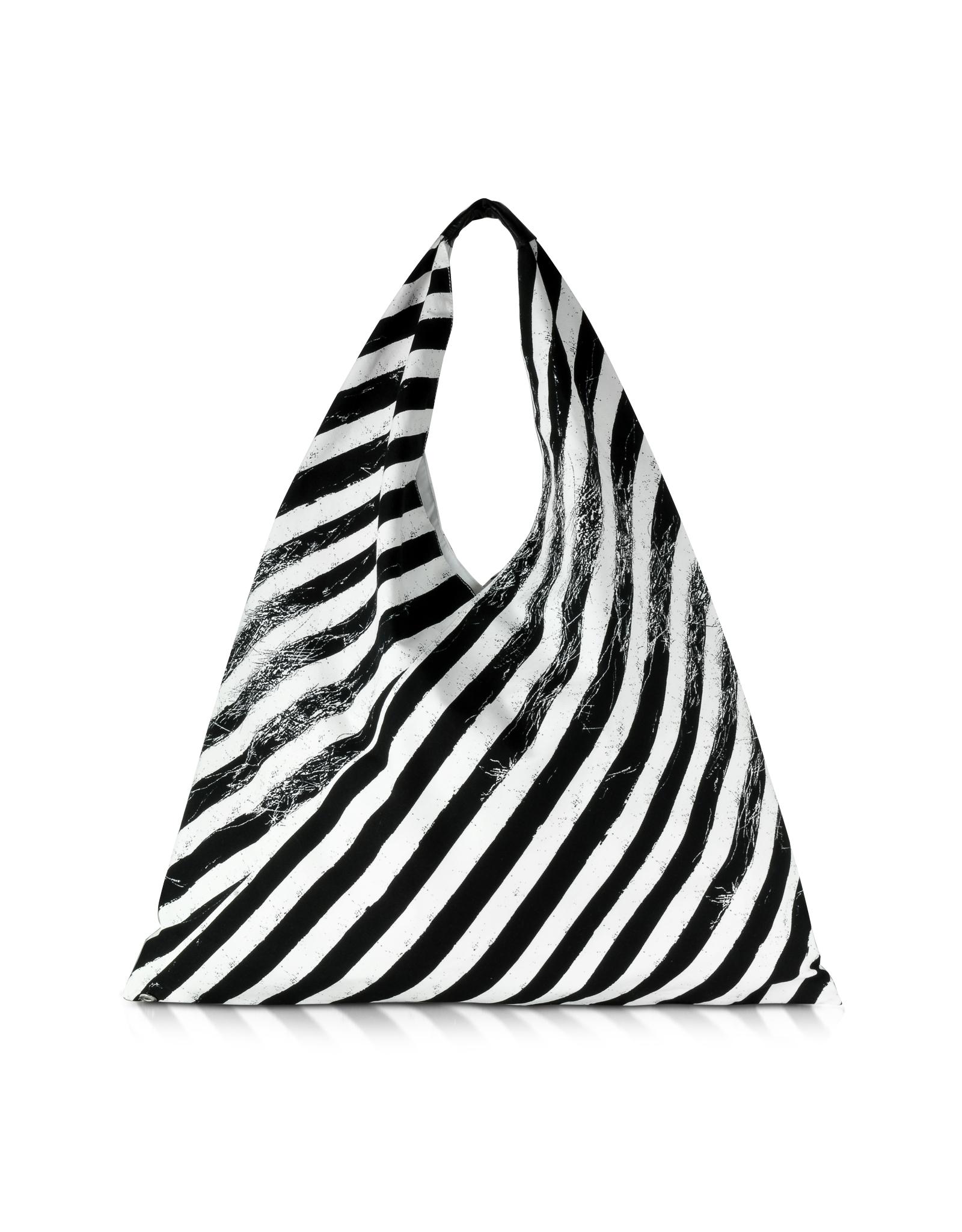 MM6 by Maison Martin Margiela Black And White Diagonal