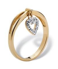 Lyst - Palmbeach Jewelry Diamond Accent 10k Yellow Gold ...