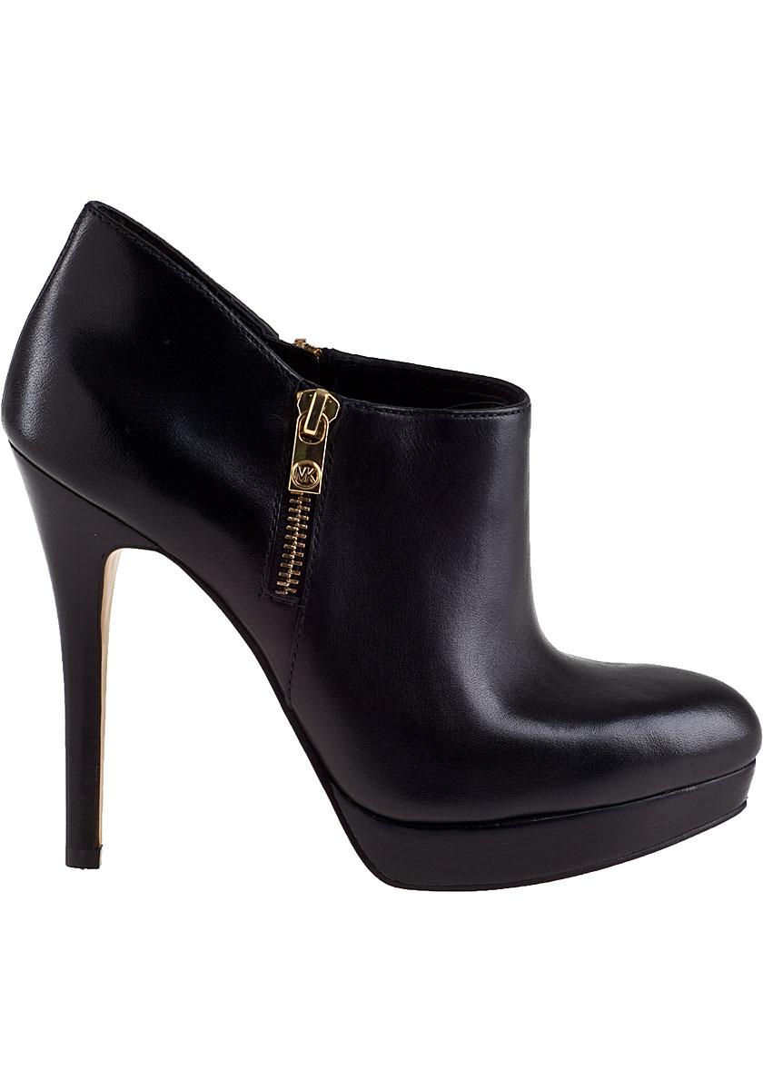 MICHAEL Michael Kors York Bootie Black Leather