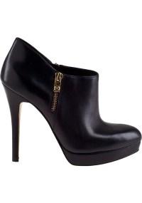MICHAEL Michael Kors York Bootie Black Leather - Lyst
