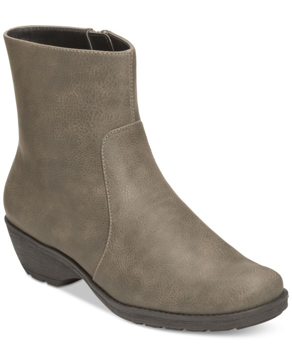 Aerosoles Speartint Booties In Gray Grey Lyst