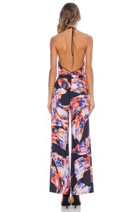 Lyst - Clover Canyon Spanish Shawl Jumpsuit in Black