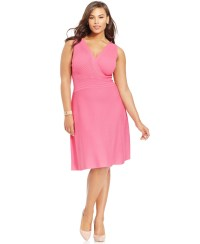 Plus Size Dresses Pink - Formal Dresses