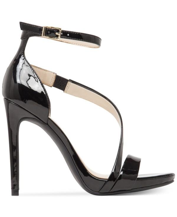 Jessica Simpson Rayli Evening Sandals In Black - Lyst