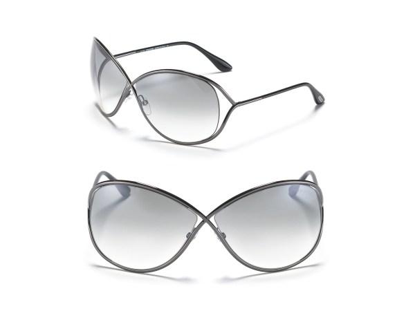 "Tom Ford ""miranda"" Sunglasses In Metallic - Lyst"
