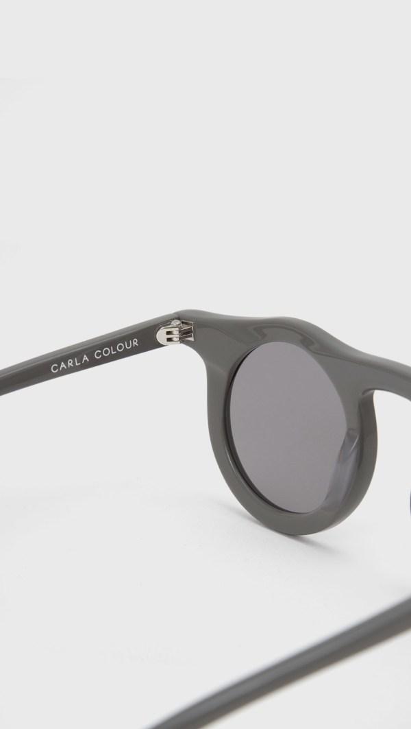 Carla Colour Lind Sunglasses In Black Lyst