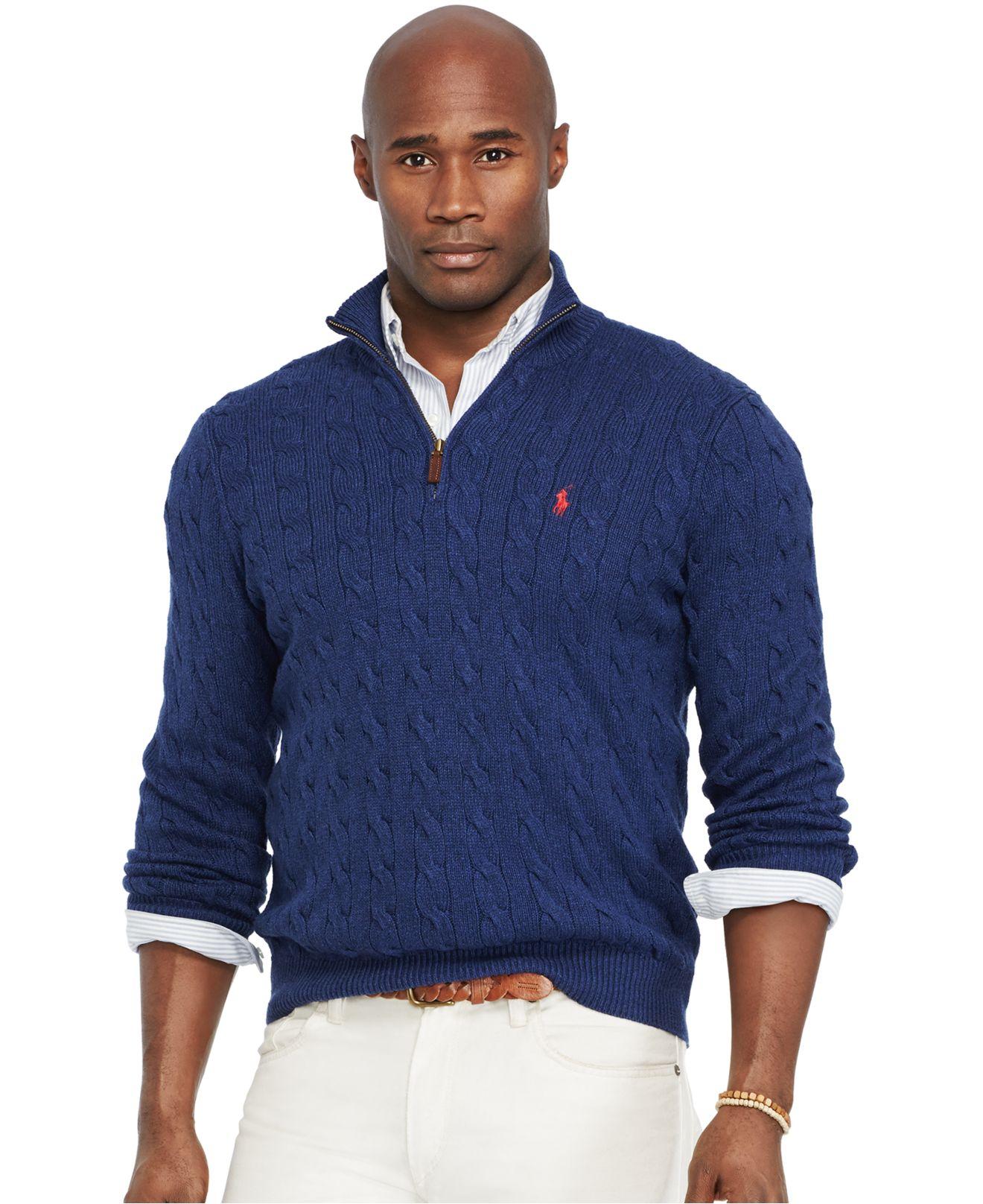 Fair Isle Sweaters Men Big And Tall