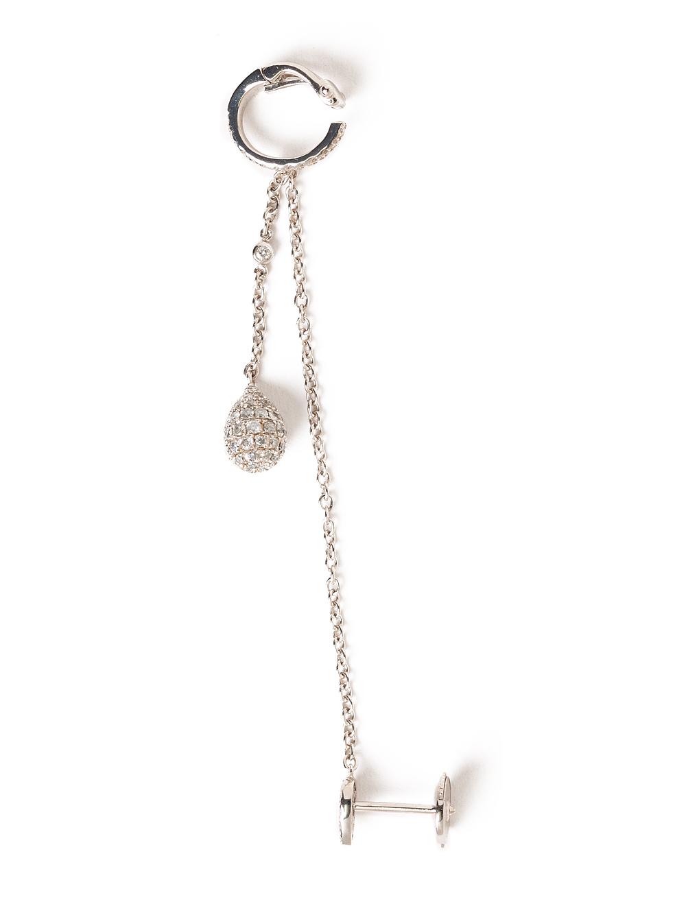 Elise dray Cartilage Earring in Metallic