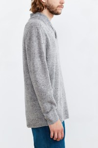 Pendleton Pullover Shawl Collar Sweater in Gray for Men | Lyst