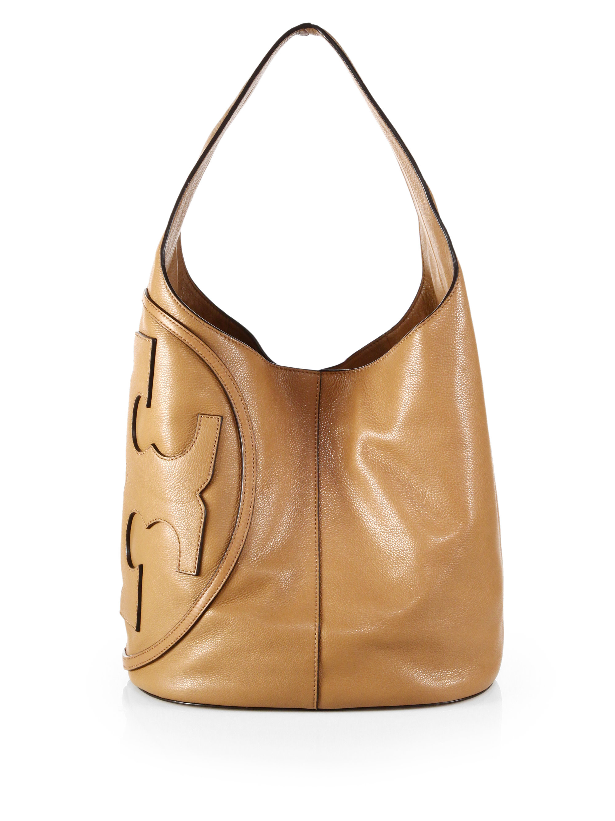 Tory burch All T Hobo in Natural  Lyst