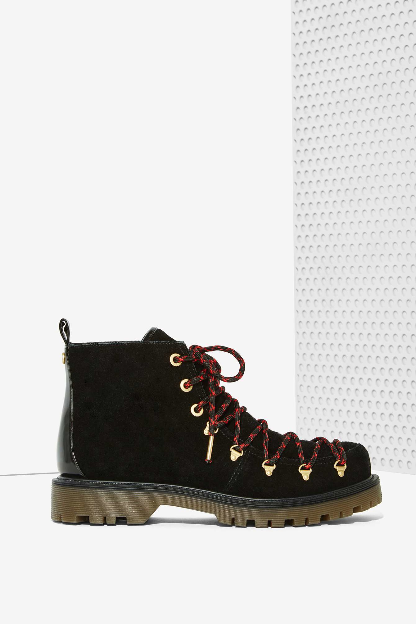 Lyst - Circus By Sam Edelman Kane Suede Boot in Black