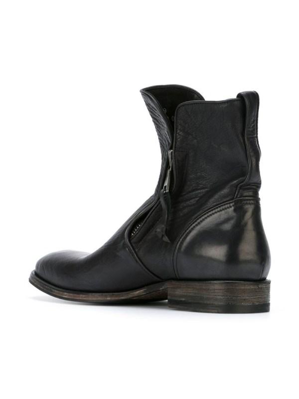 Lyst - John Varvatos Zip Boots In Black Men