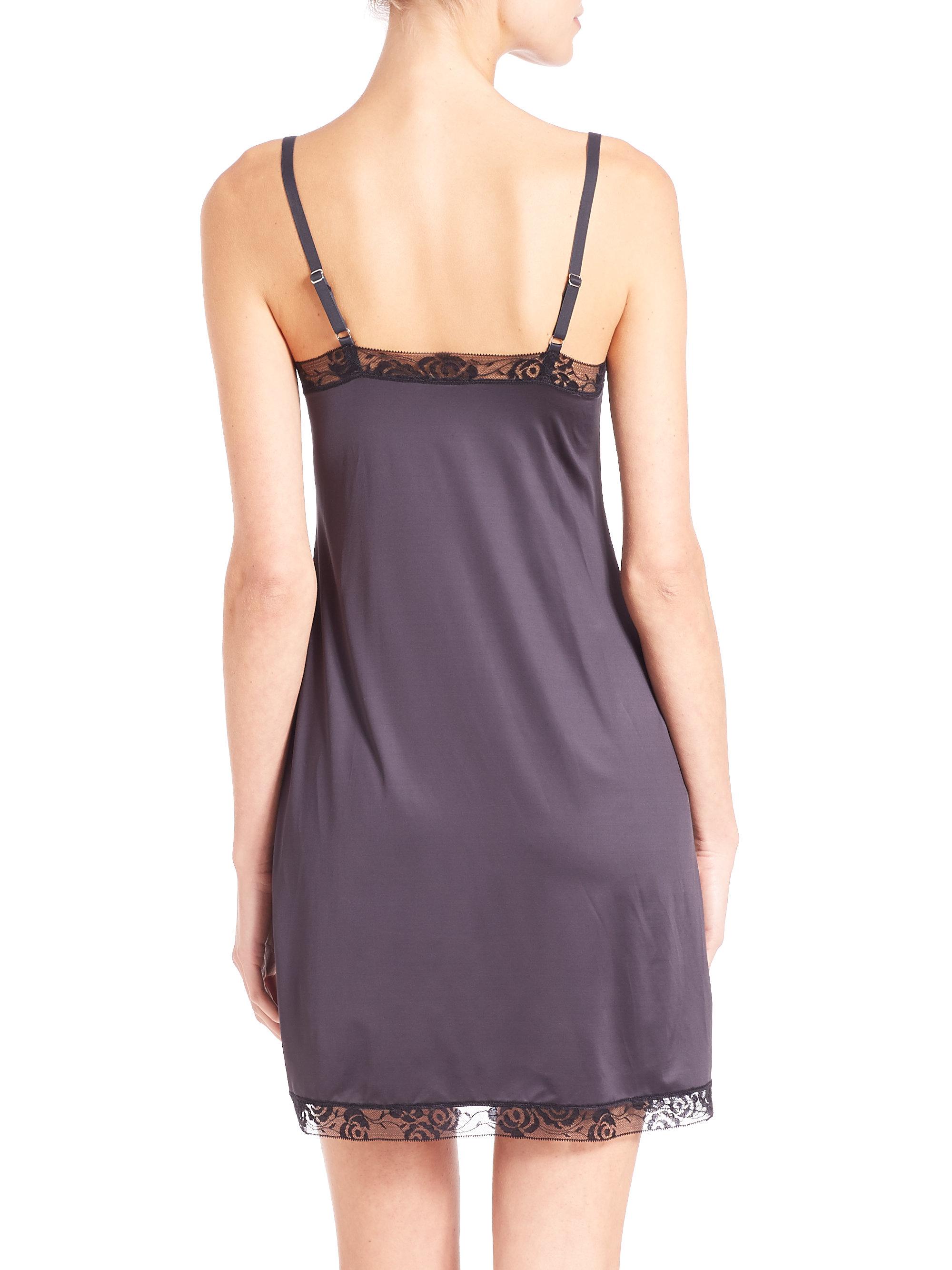 Hanro Mona Lisa Body Dress in Purple  Lyst