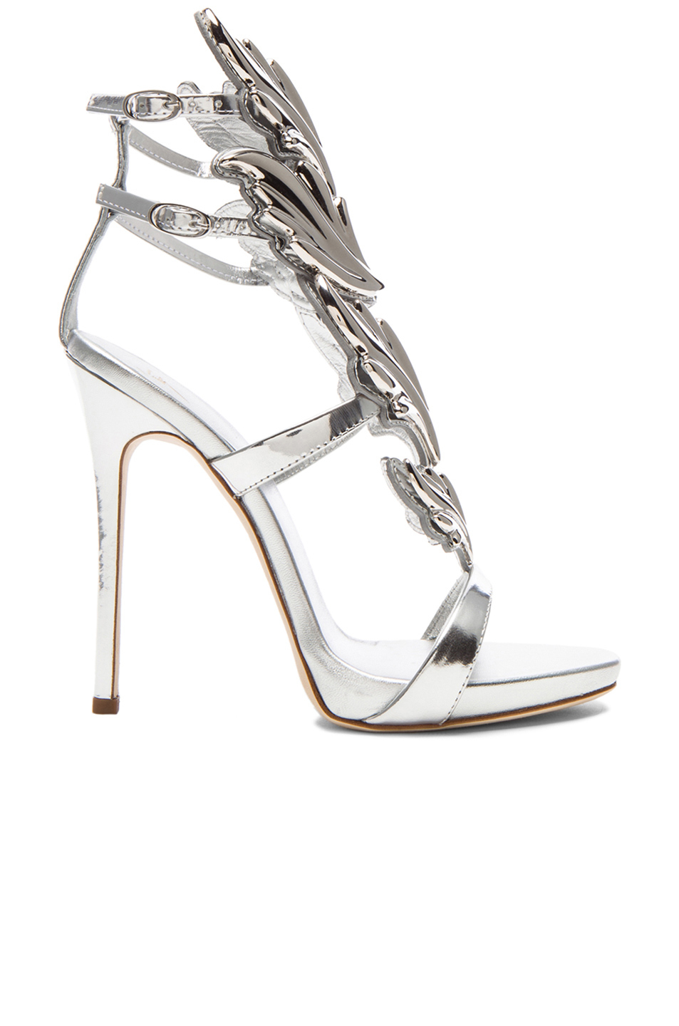 Giuseppe zanotti X Kayne West Wing Patent Leather Heels in