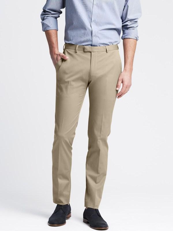Banana Republic Modern Slim-fit Chino Suit Trouser In