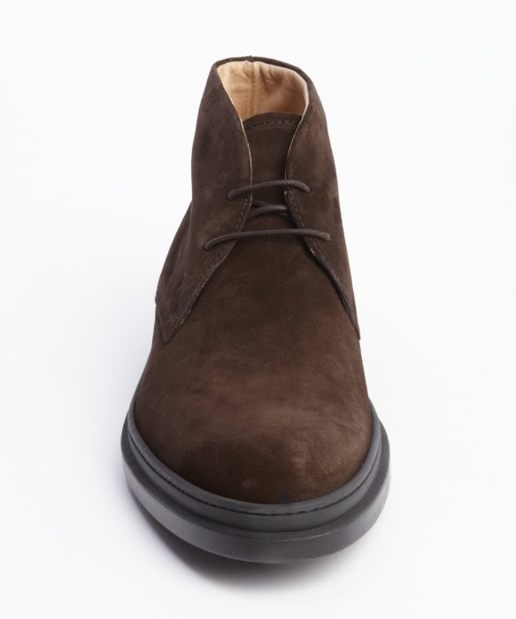 Lyst  TodS Marrone Suede Lace Up Chukka Boots in Brown for Men