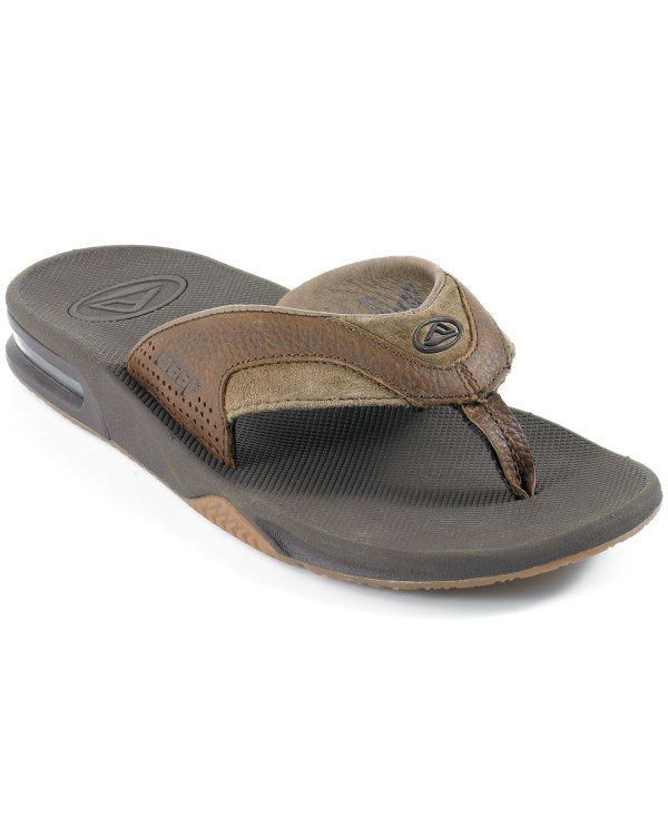 Lyst - Reef Leather Fanning Bottle Opener Thong Sandals In