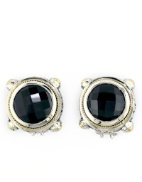 Effy Balissima Onyx, Sterling Silver And 18k Yellow Gold ...