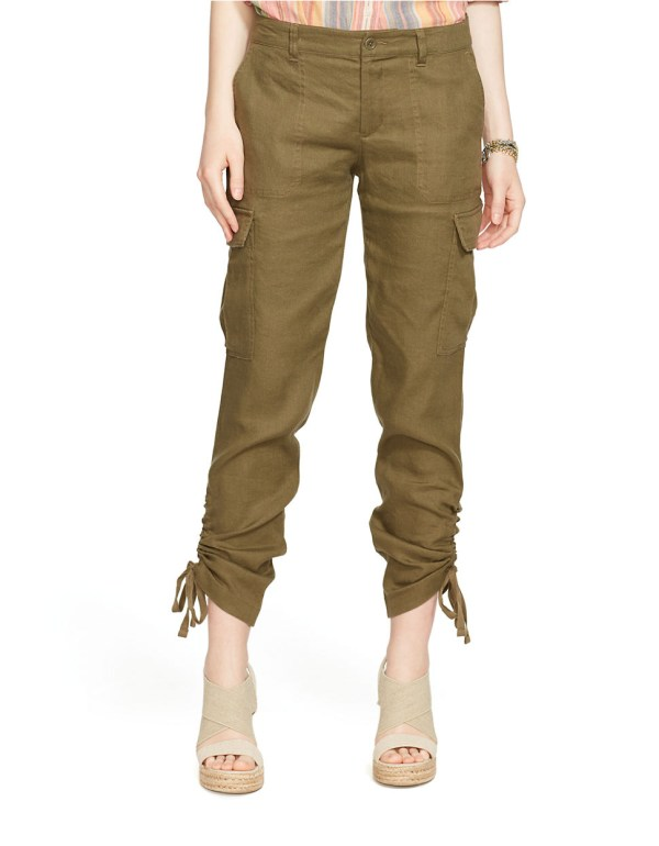 Ralph Lauren Linen Cargo Pants