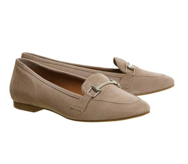Office Detox Snaffle Trim Loafers In Natural Lyst