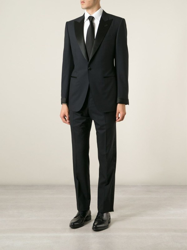 Tom Ford Two Piece Dinner Suit In Blue Men Lyst