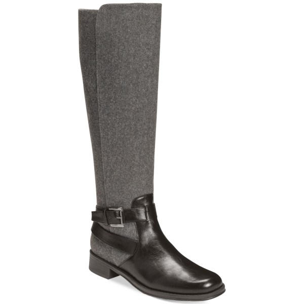 Aerosoles With Pride Tall Boots In Gray Black Combo Lyst