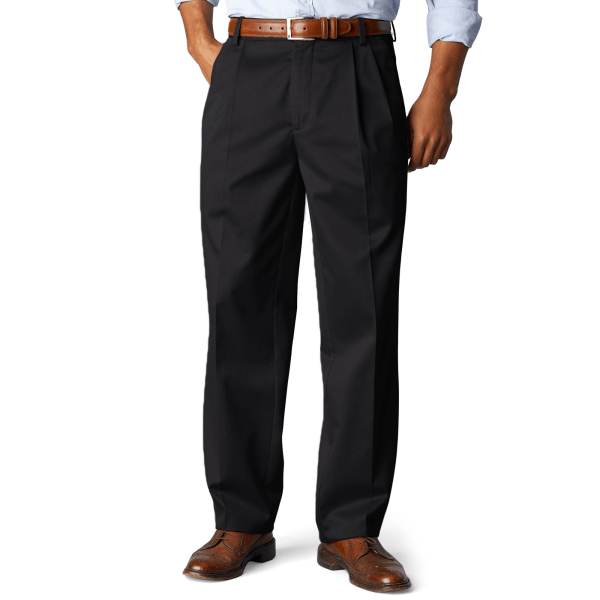Dockers Signature Khaki Classic Fit Big And Tall Pleated