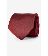 Express Mint Narrow Solid Color Silk Tie in Red for Men | Lyst