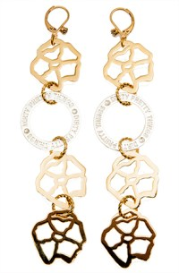 Dirty Pretty Things   Neanie Buds Gold Silver Earrings   Lyst