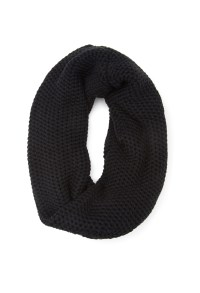 Lyst - Forever 21 Waffle Knit Infinity Scarf in Black