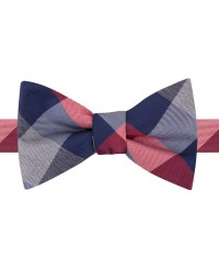 Lyst - Tommy Hilfiger Buffalo To-tie Bow Tie in Red for Men