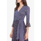 Diane Von Furstenberg Wrap Dress Silk