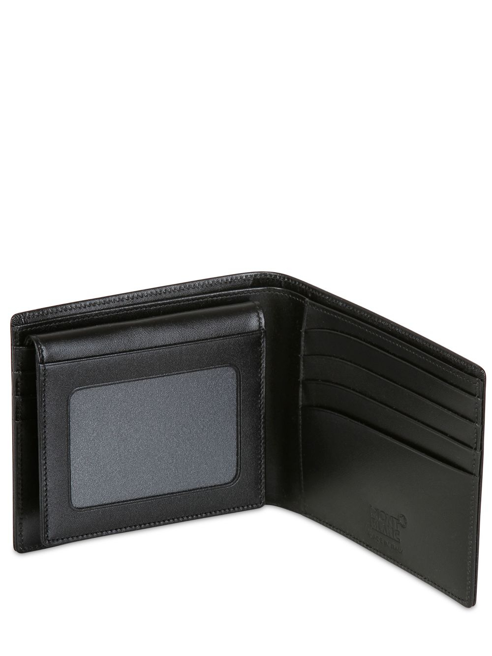 Montblanc Meisterstuck 11cc Leather Wallet In Black For