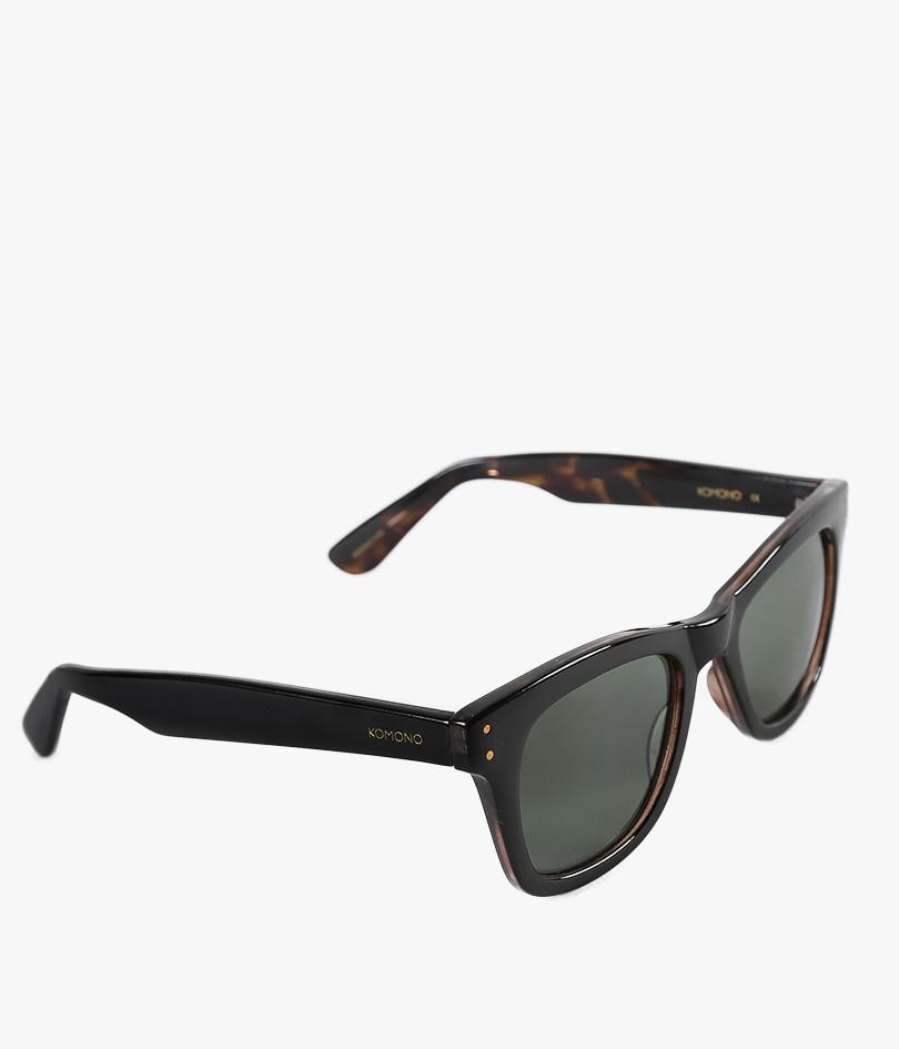 Komono Allen Sunglasses in Black (Black / Tortoise)   Lyst