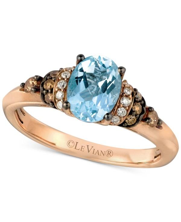 Le Vian Chocolate Diamond Rose Gold Rings