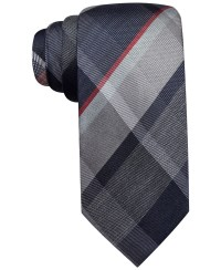 Lyst - Vince Camuto Tecla Plaid Slim Tie in Gray for Men
